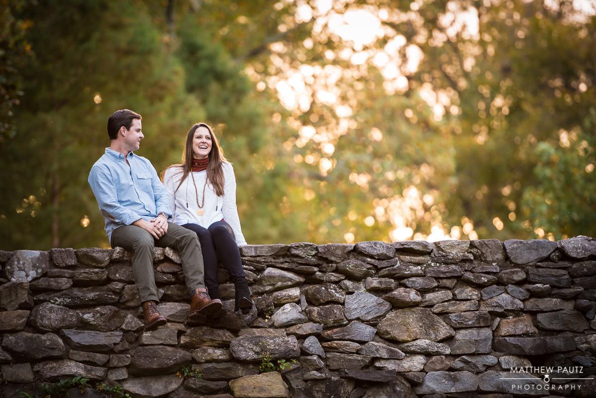 Engagement Photos at Falls Park