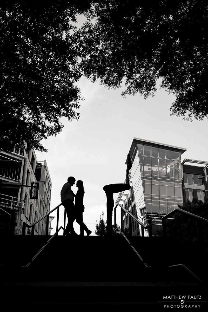 Downtown Greenville SC Engagement photos