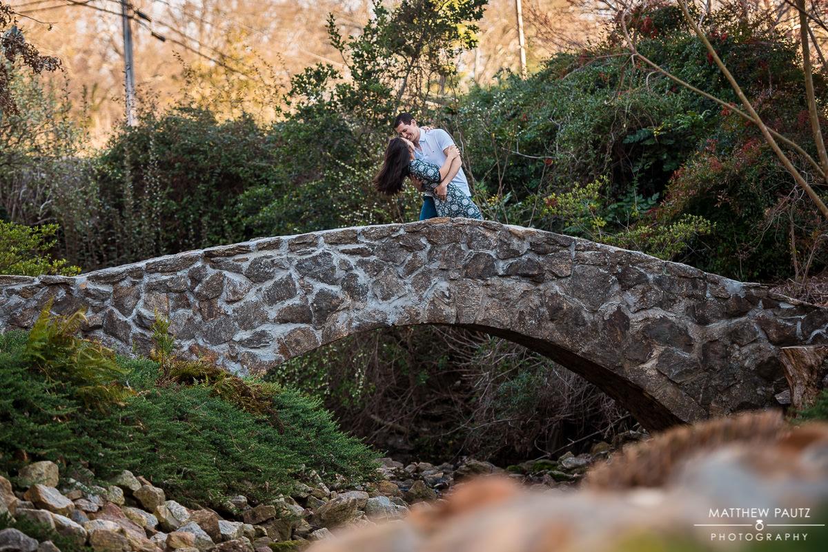 Rock Quarry Engagement Photos