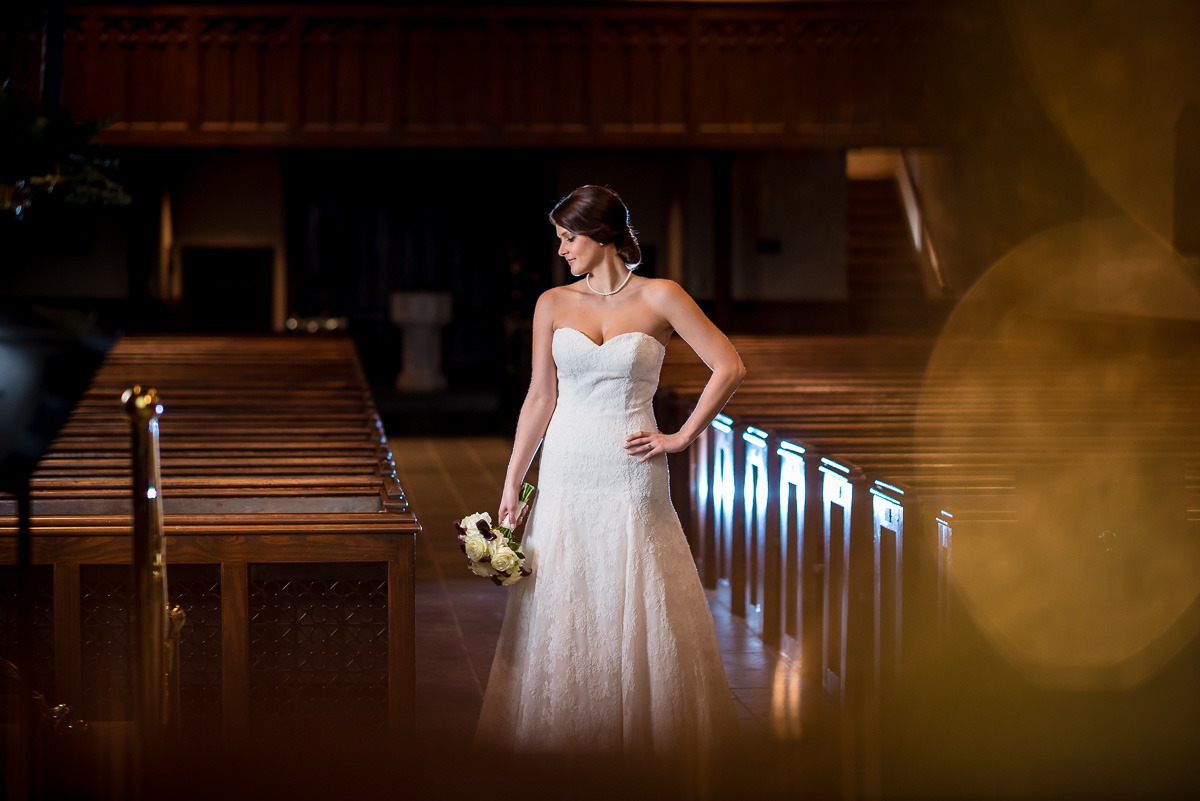 Wedding Photos | Christ Church Bridal Portrait