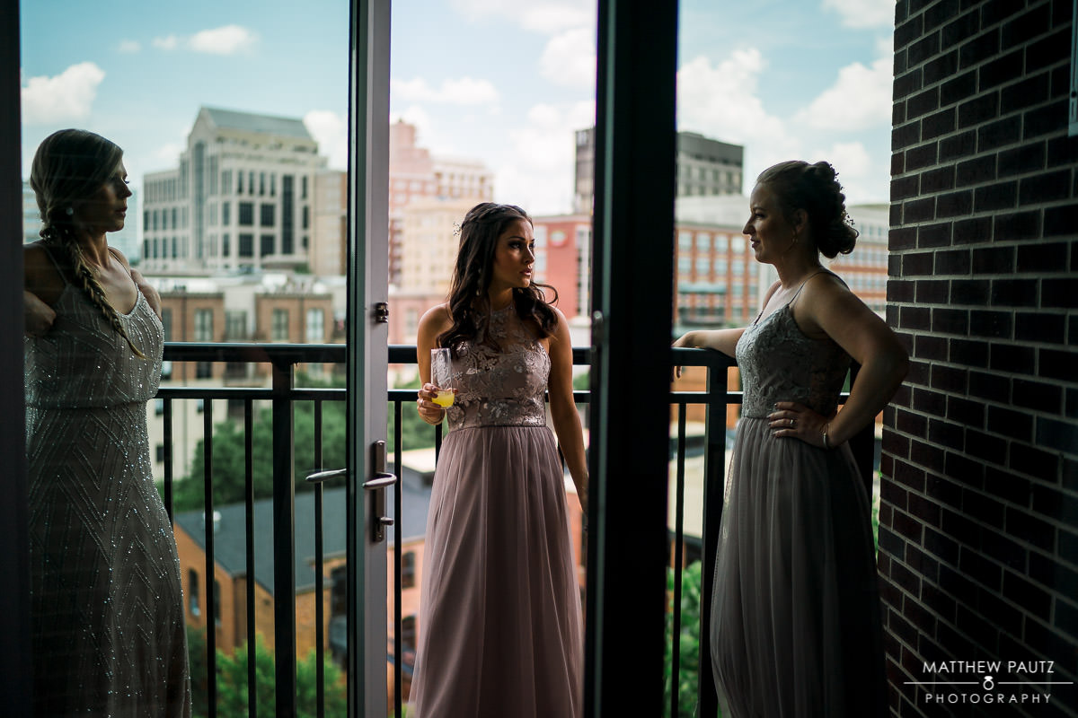 embassy suites wedding photo