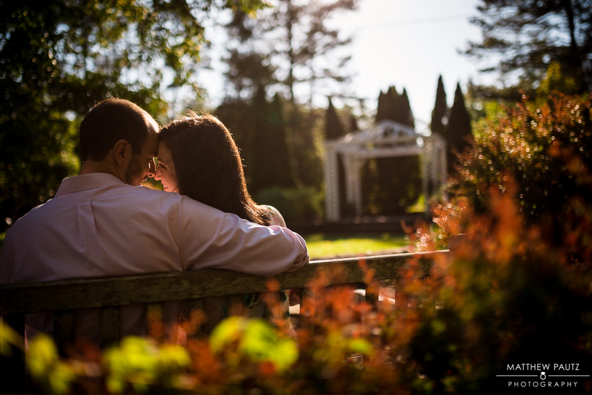 SC Botanical Gardens engagement photos|Clemson engagement photo