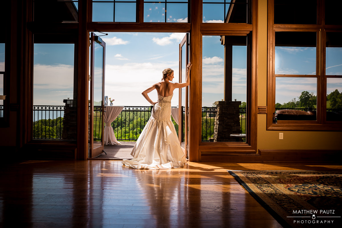 Bridal Portrait - Grand Highlands at Bearwallow Mountain Wedding Photos