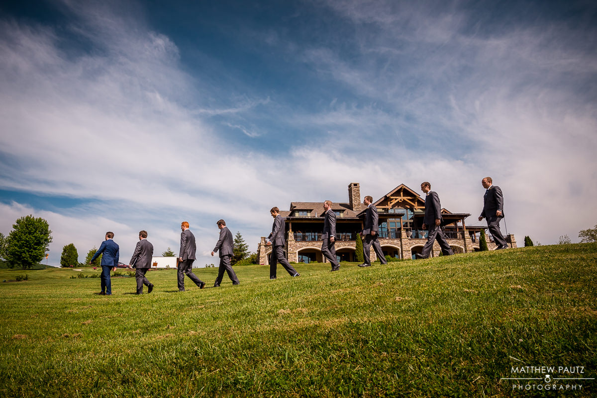 Grand Highlands at Bearwallow Mountain Wedding Photos