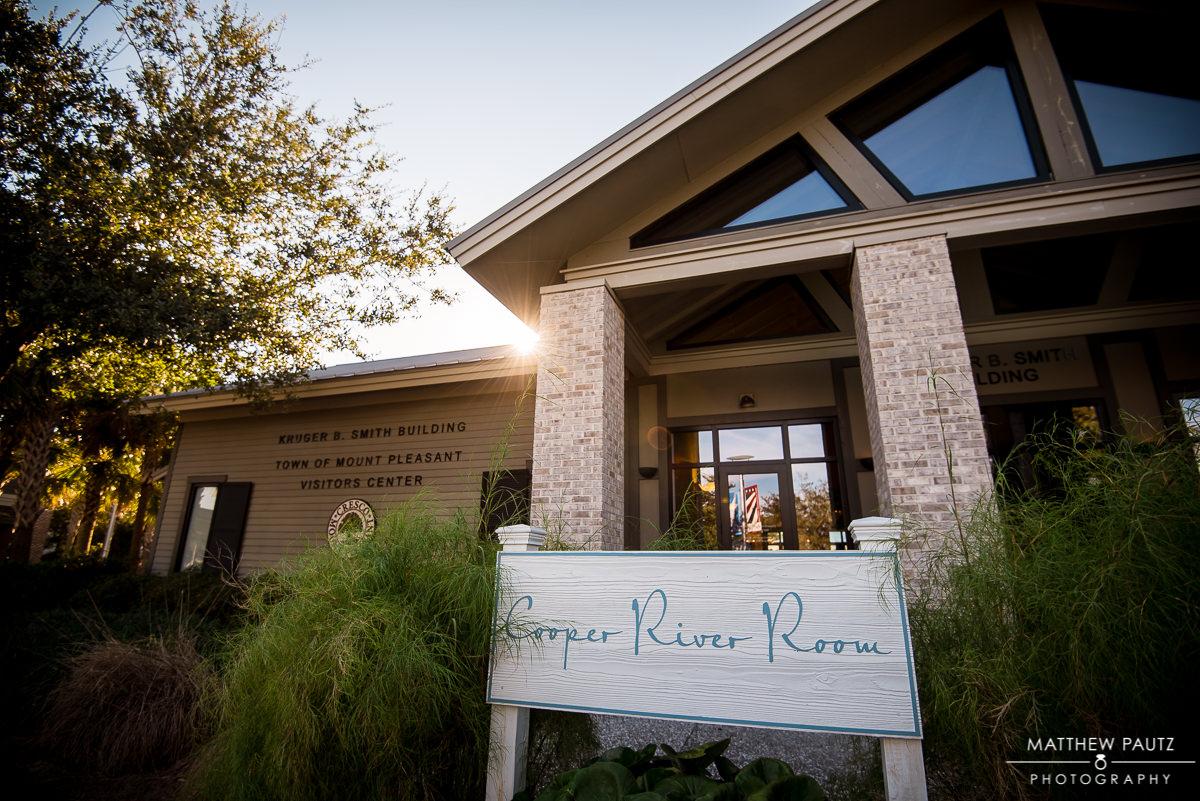 Cooper River Room Wedding