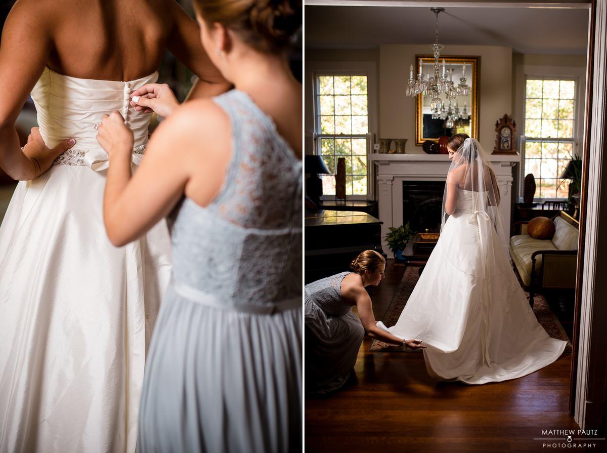 Clevedale Inn Wedding Photos