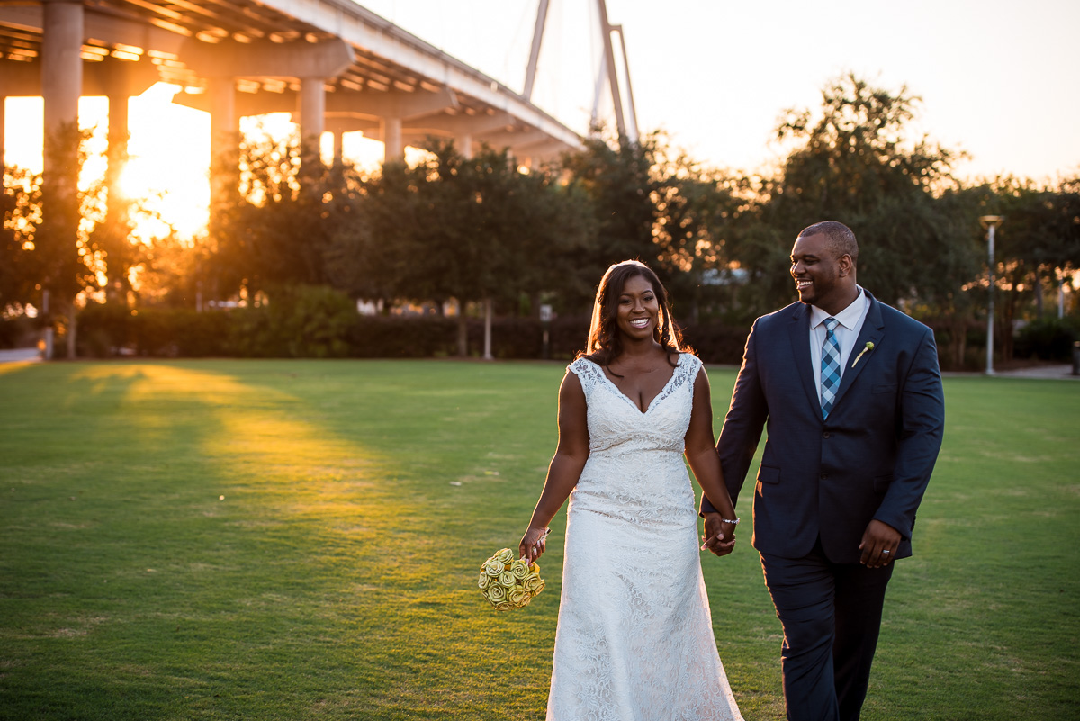 Cooper River Room Wedding | Charleston Destination Wedding