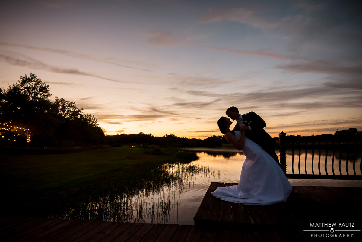 greenville wedding photographers | silhouetted couple