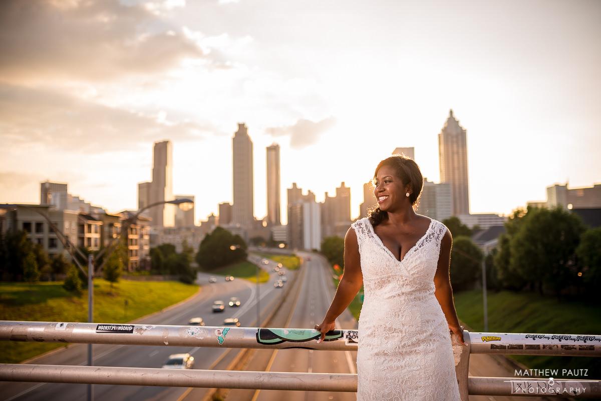 Atlanta bridal portrait