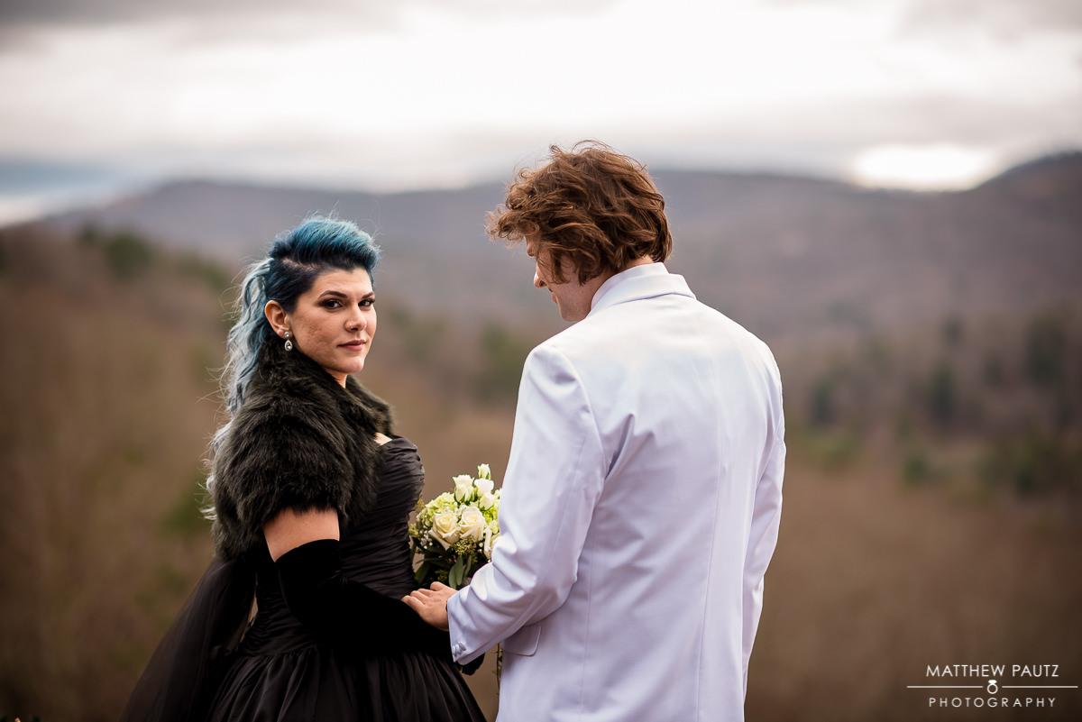 Asheville NC Crest Center wedding photos