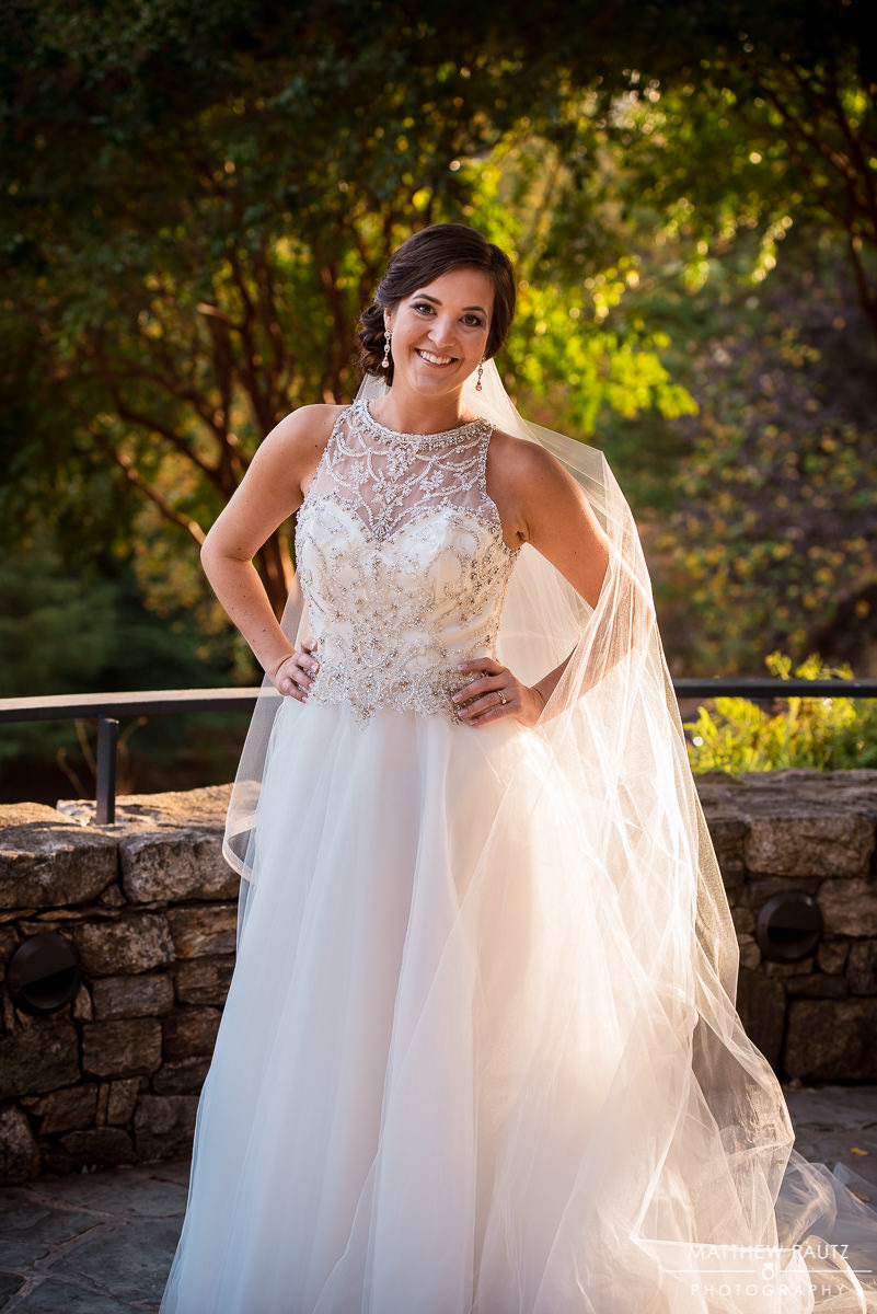 Fall Bridal Photos in Downtown Greenville SC |