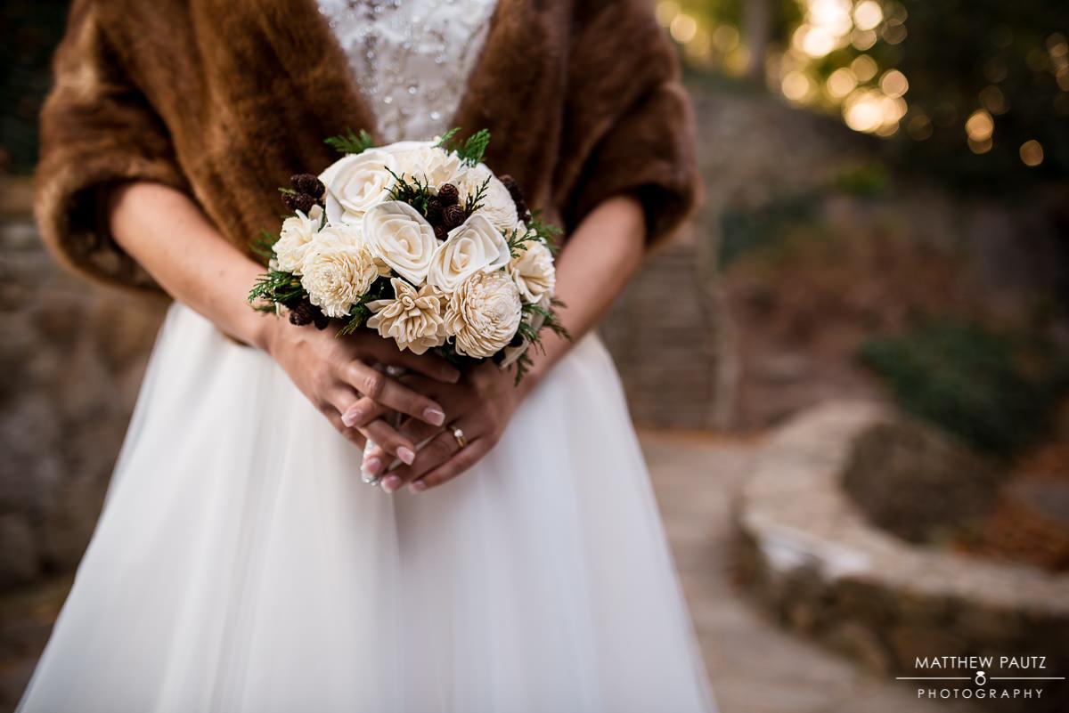 Falls Park bridal photos