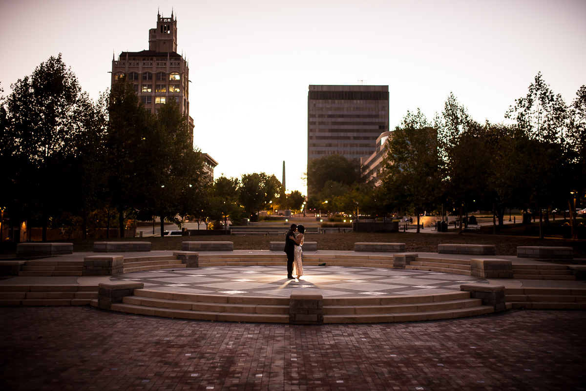 Downtown Asheville NC Engagement Photos