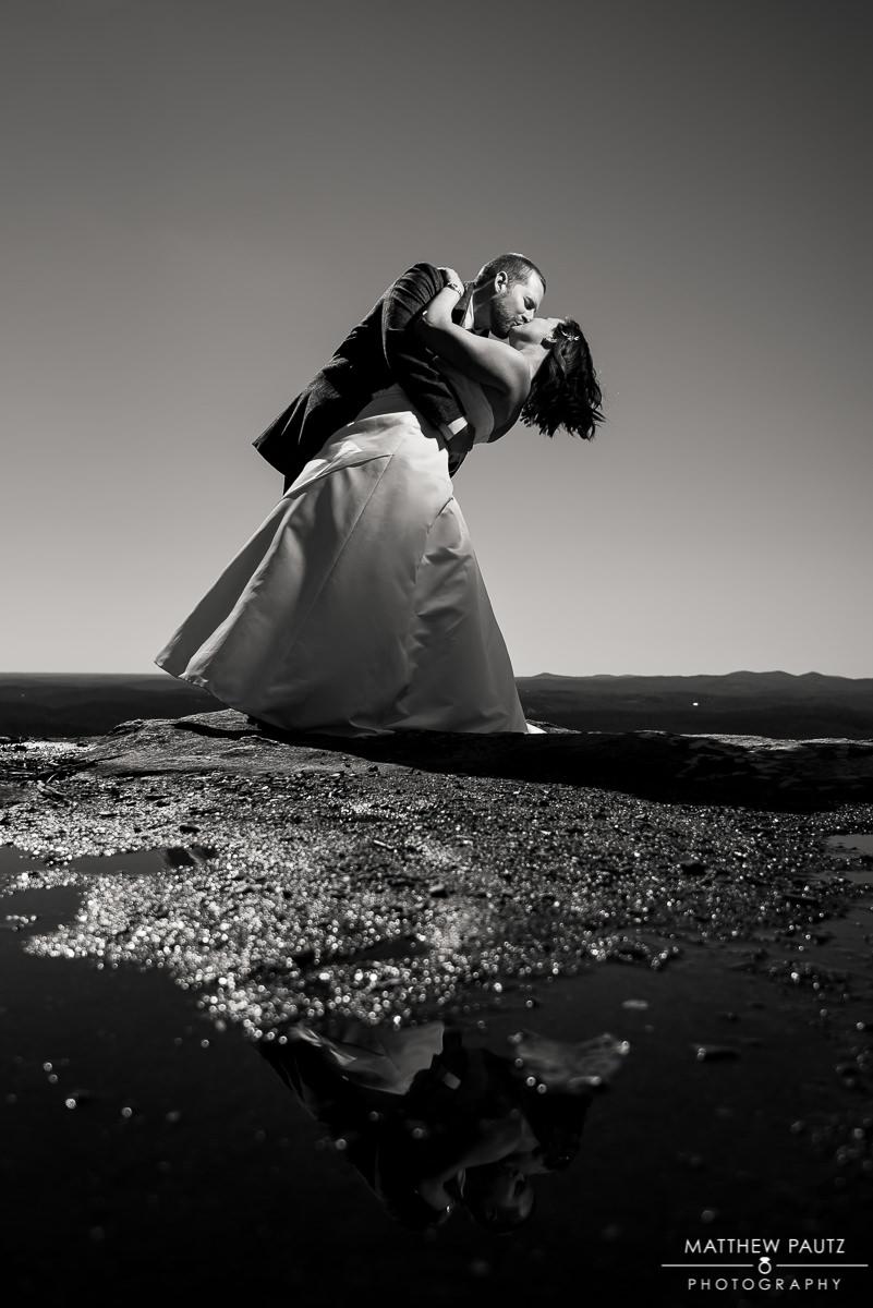 elopement photography at bald rock sc