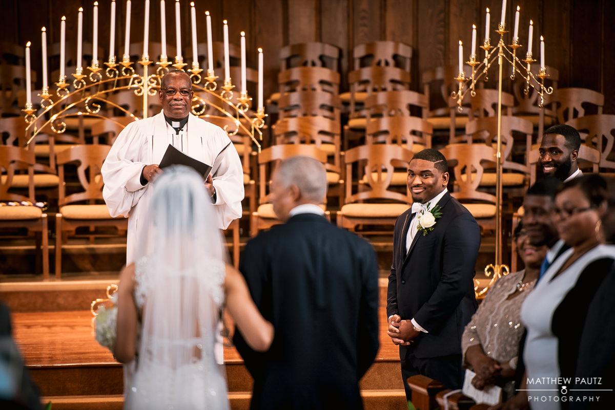 Asheville First Baptist Church Wedding Photos