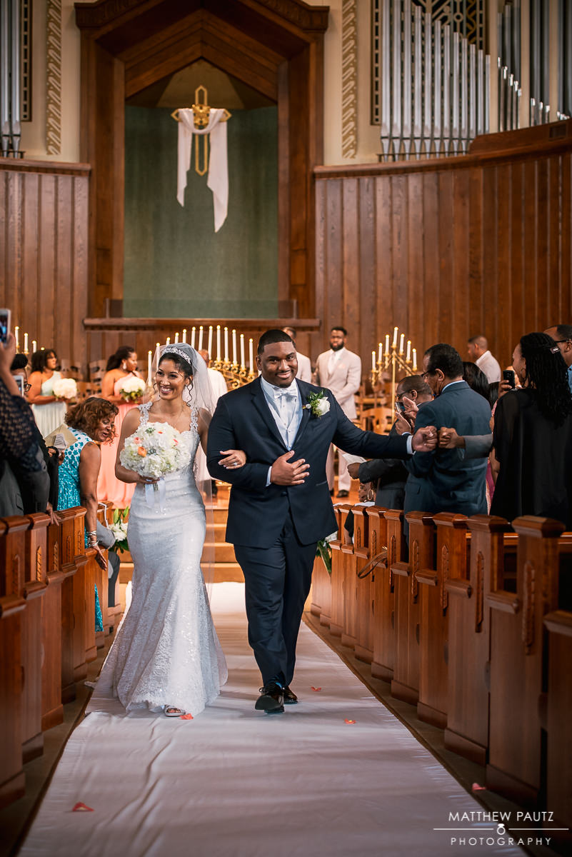 Asheville First Baptist Church Wedding Photos