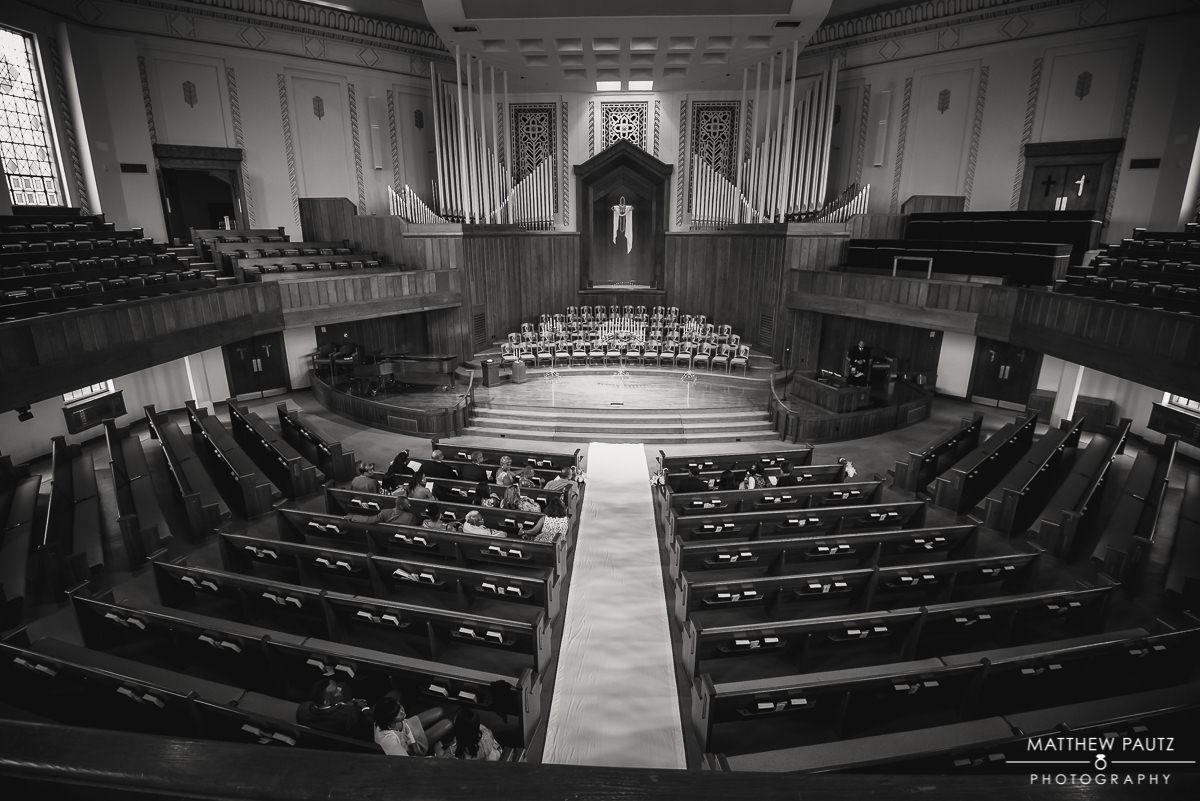 Asheville First Baptist Church wedding