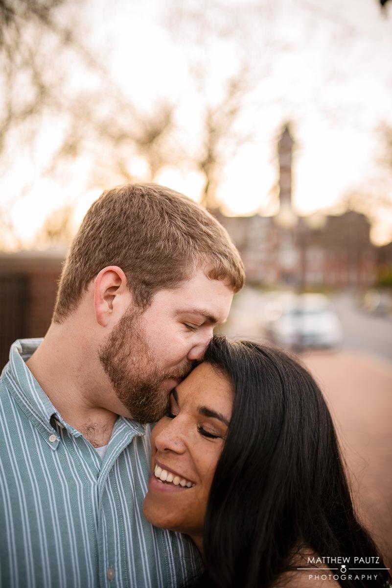 Clemson university engagement photos