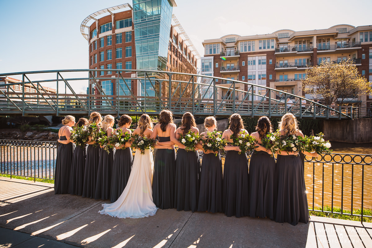 Greenville SC wedding photos at Larkin's
