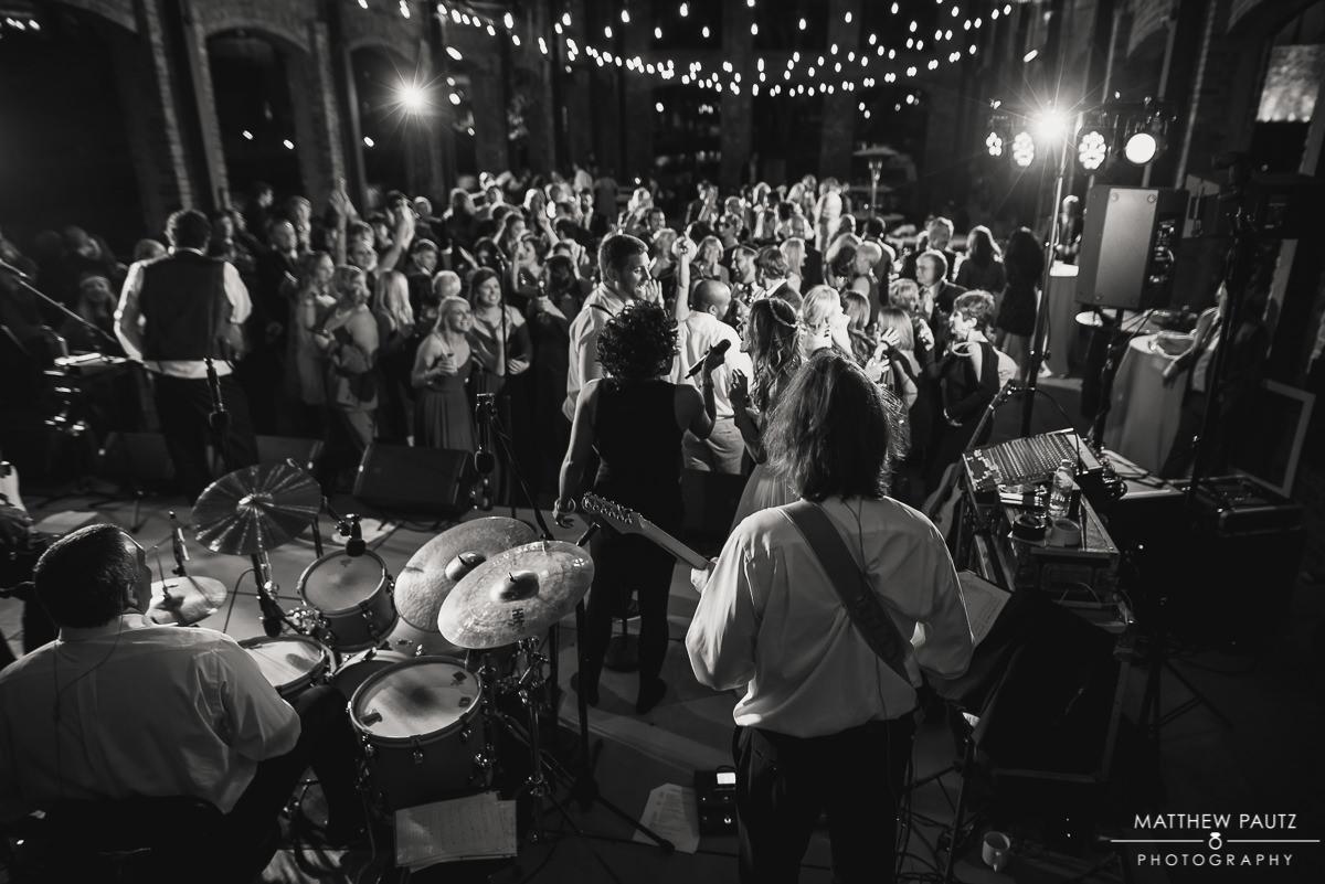 Shimmer Band wedding photos in Greenville SC