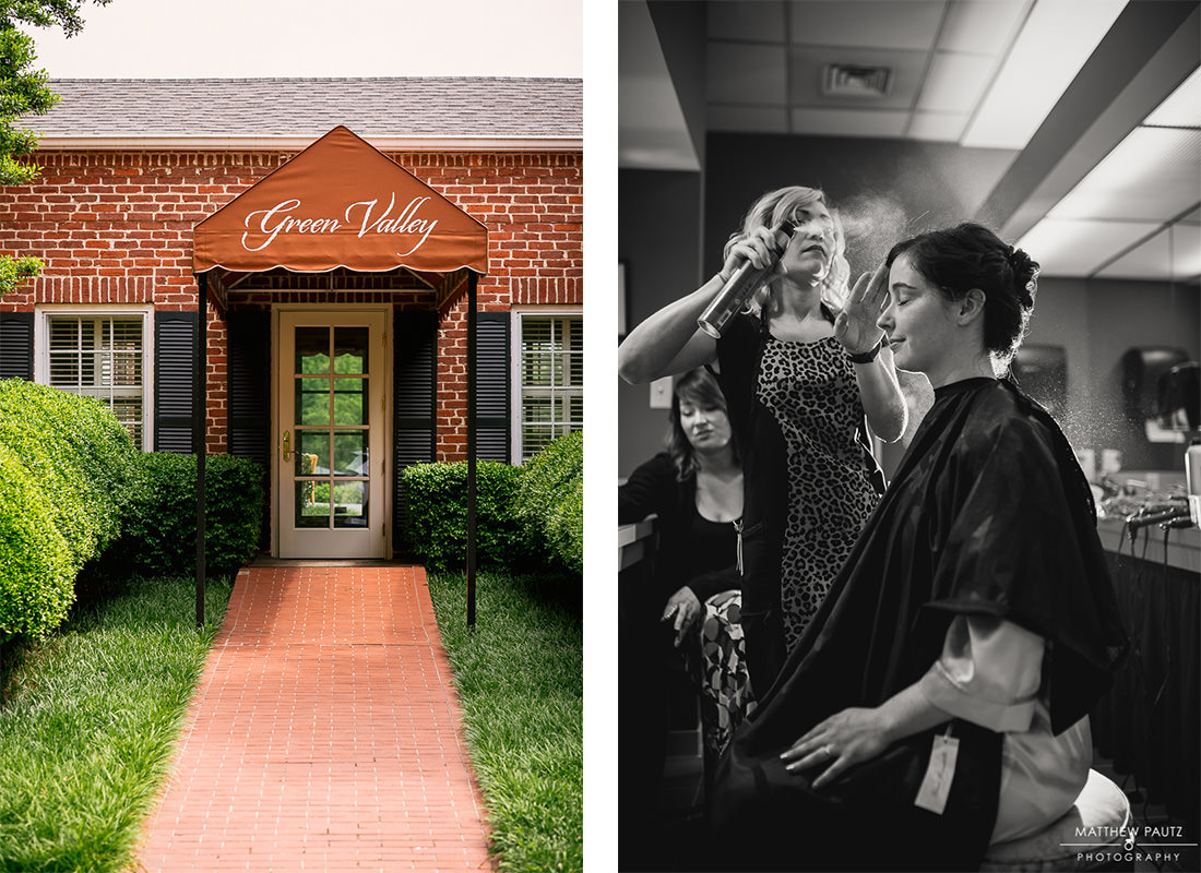 Green Valley Country Club wedding