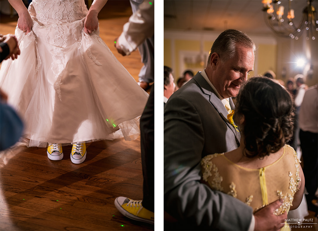 Reception photos at Green Valley Country Club