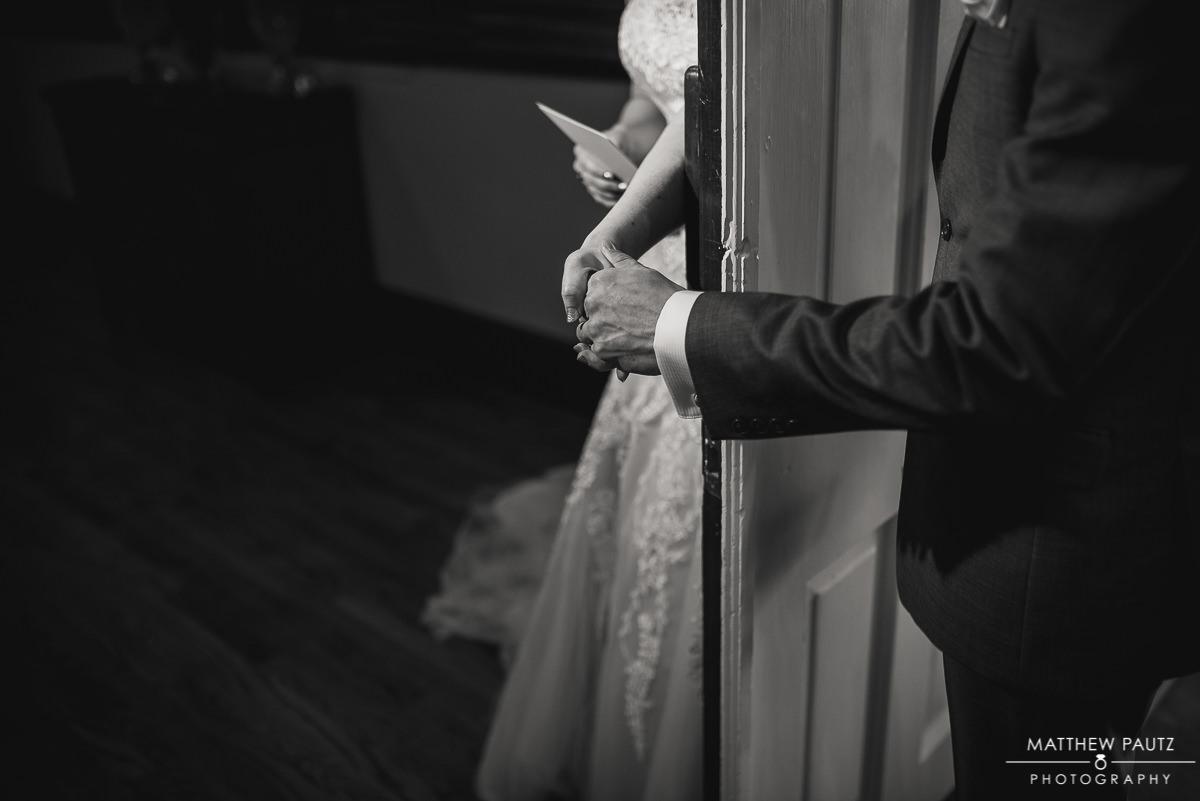 No Look ceremony before wedding