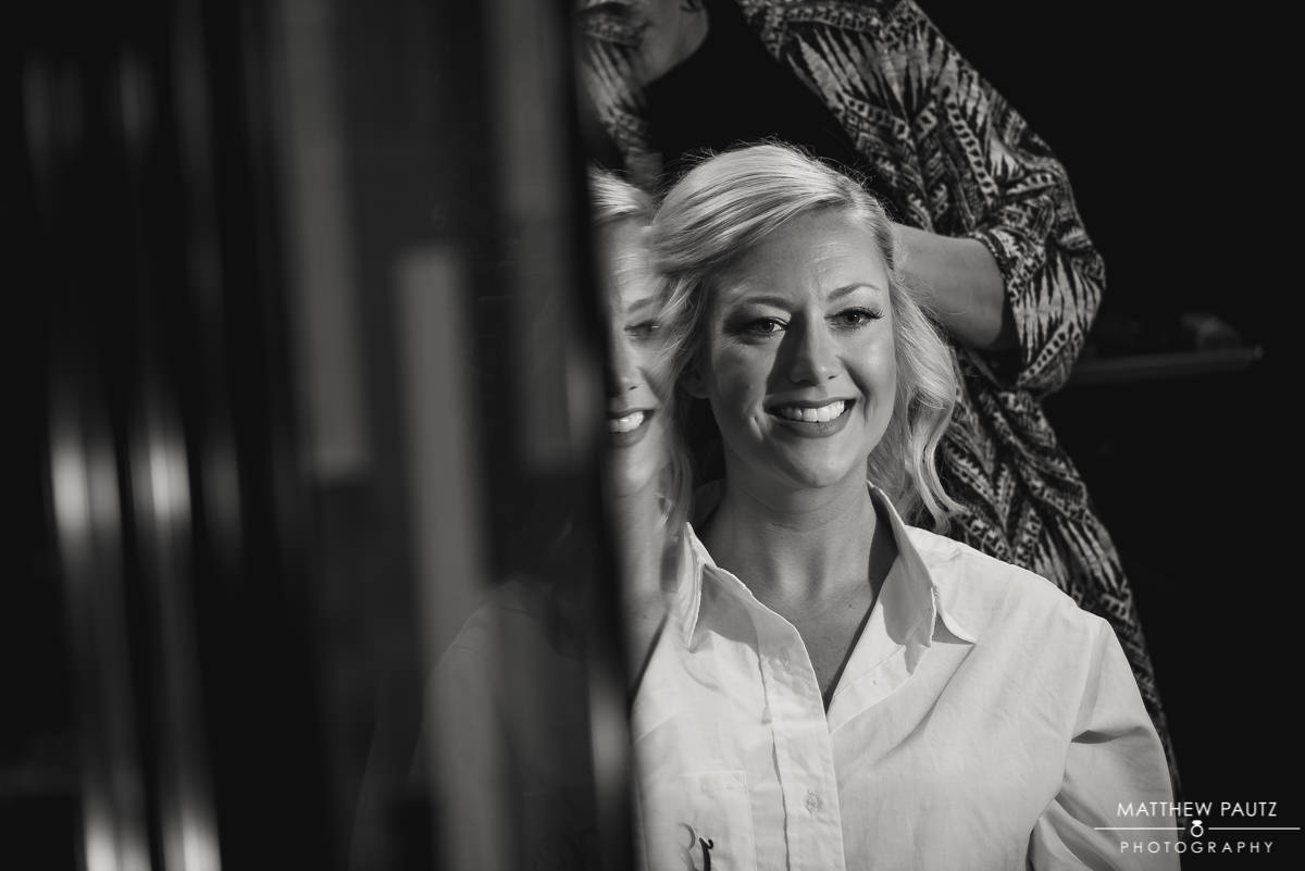 Bride at Lava Salon, Charleston SC