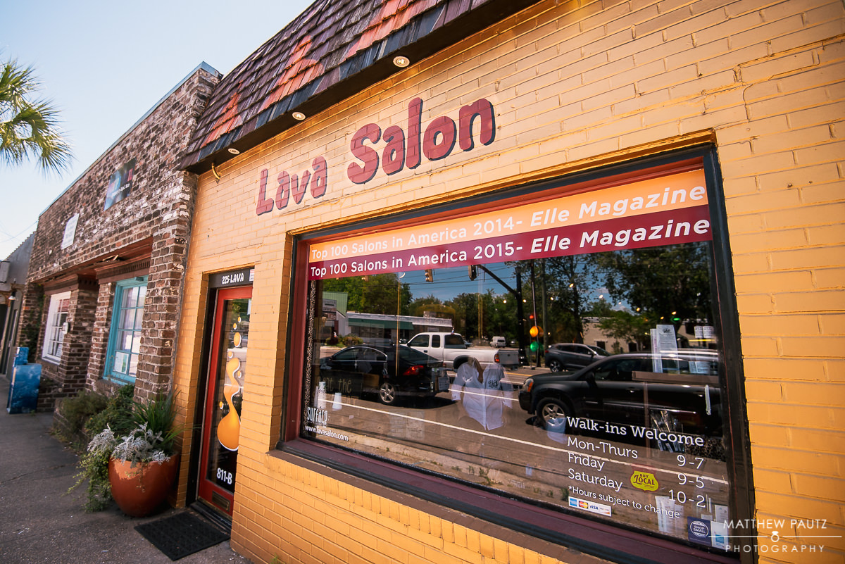 Lava Salon, Charleston SC