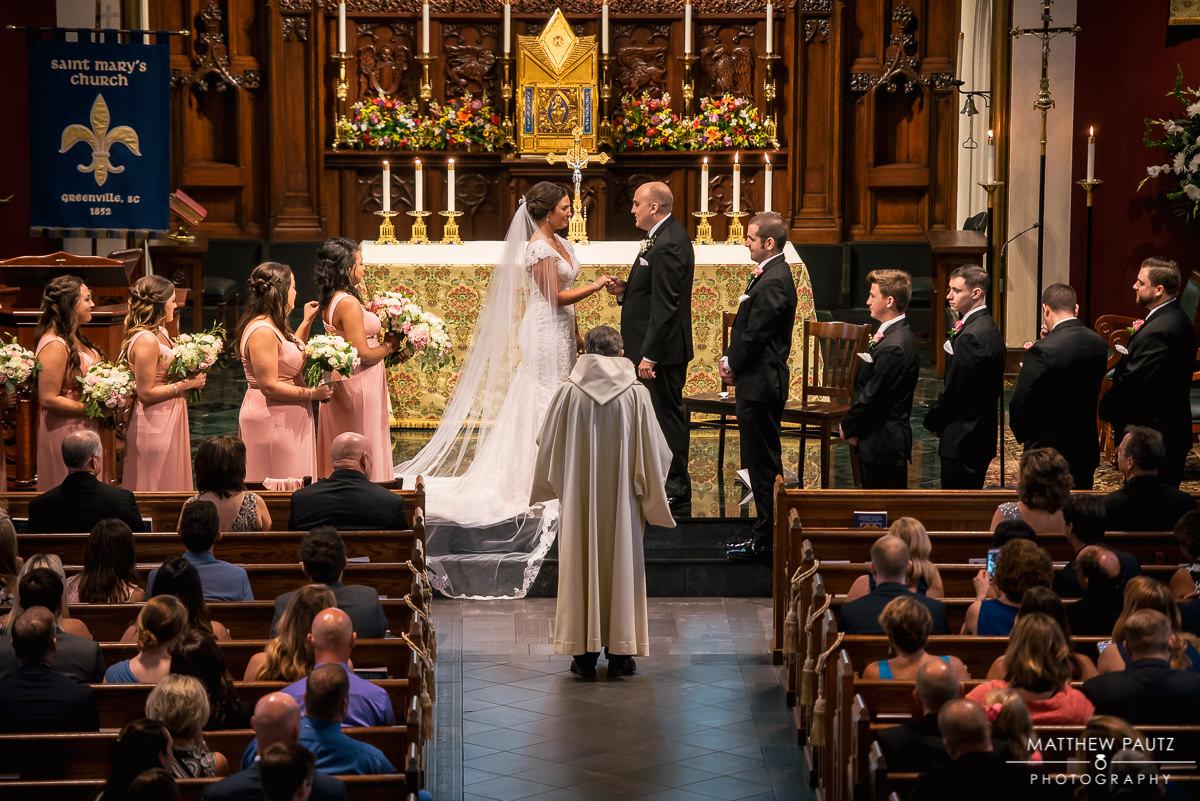 saint marys catholic church wedding