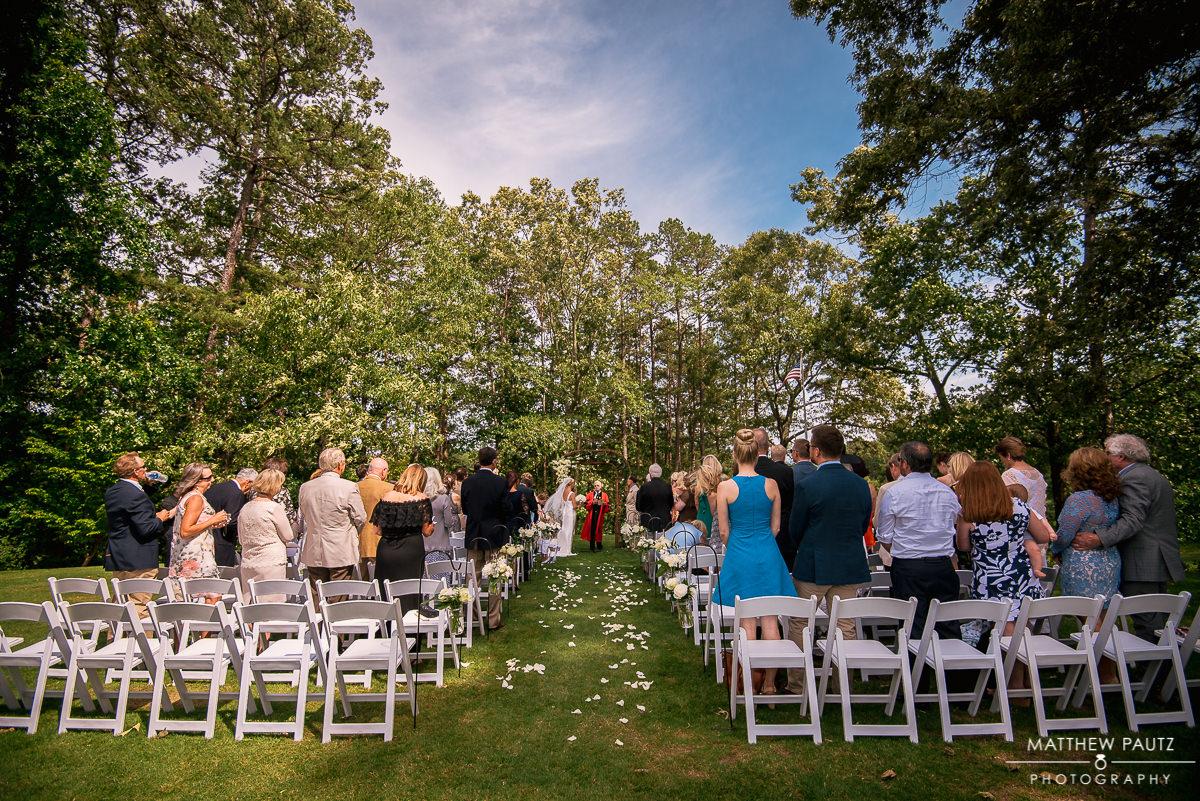 wedding at the club at Keowee Key