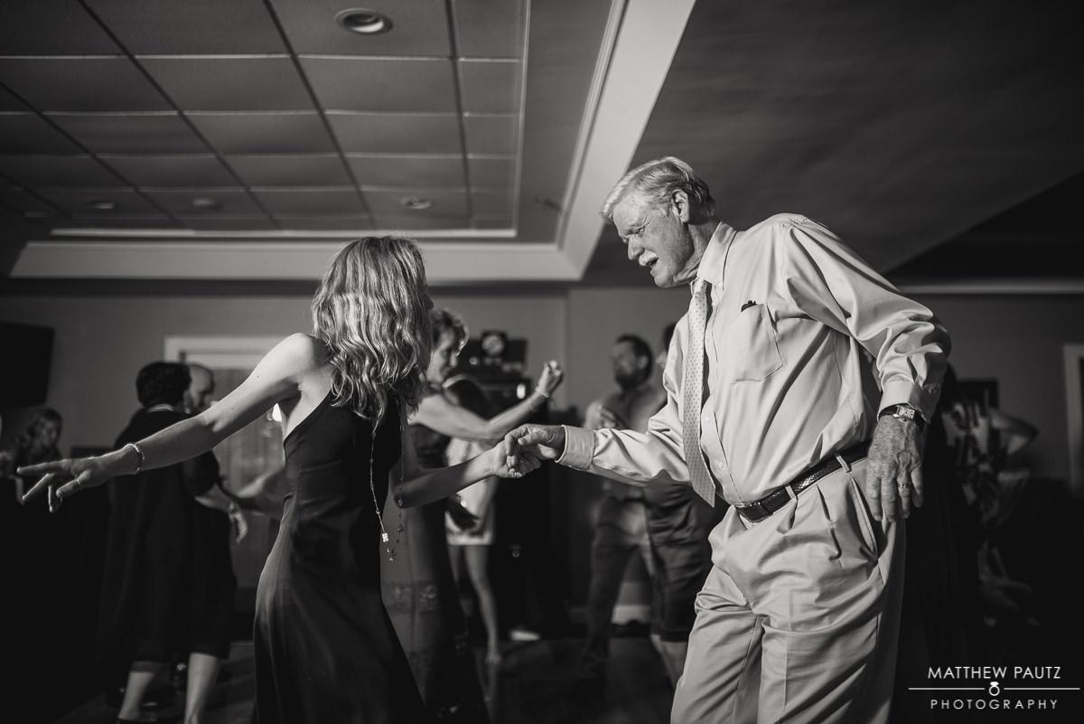 guests dancing and having fun at the club at Keowee Key