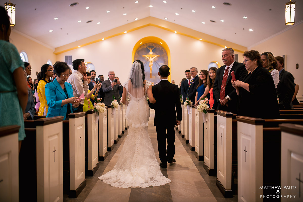 Our lady of la vang wedding