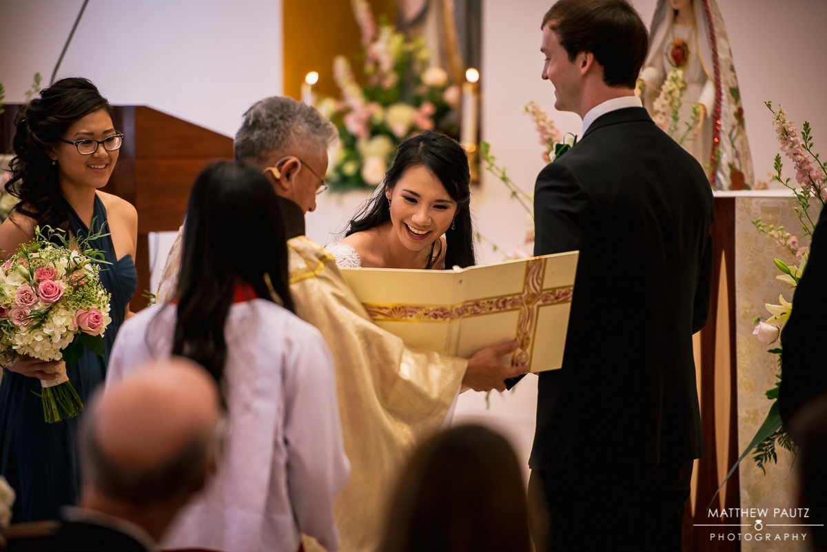 our lady of la vang church wedding ceremony