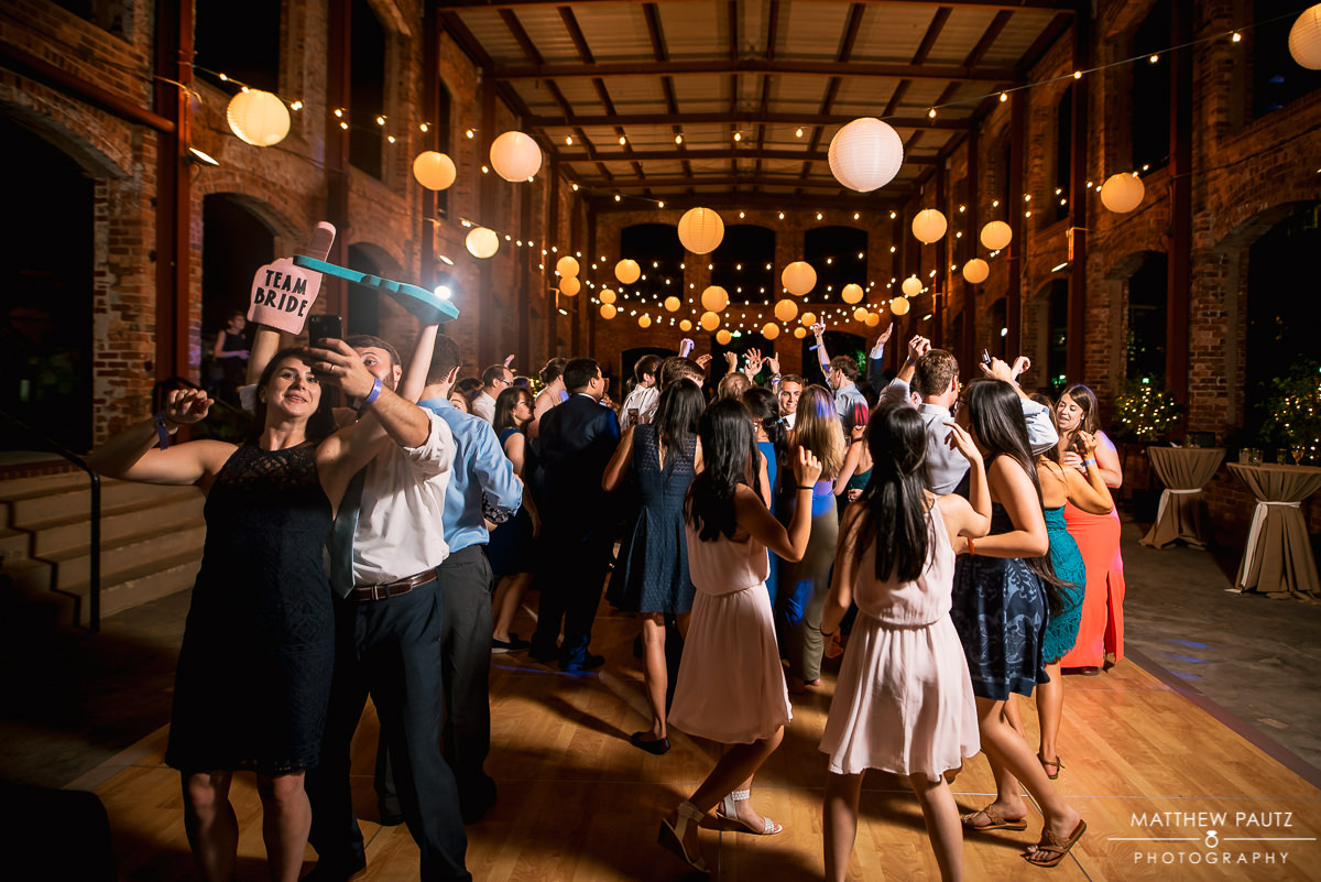 Wedding reception at wyche pavilion