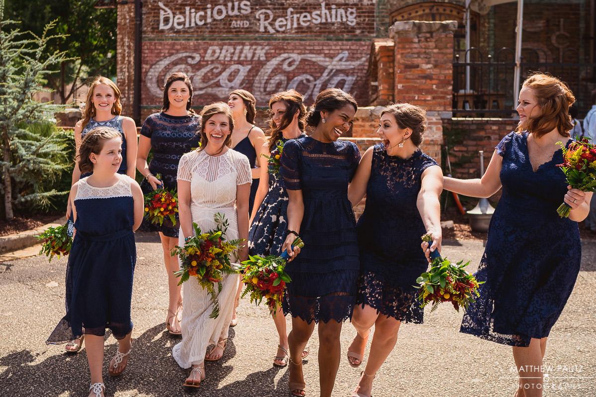 wedding at the old cigar warehouse