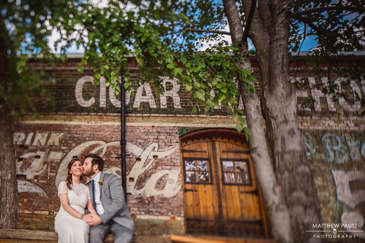 Old Cigar Warehouse Wedding