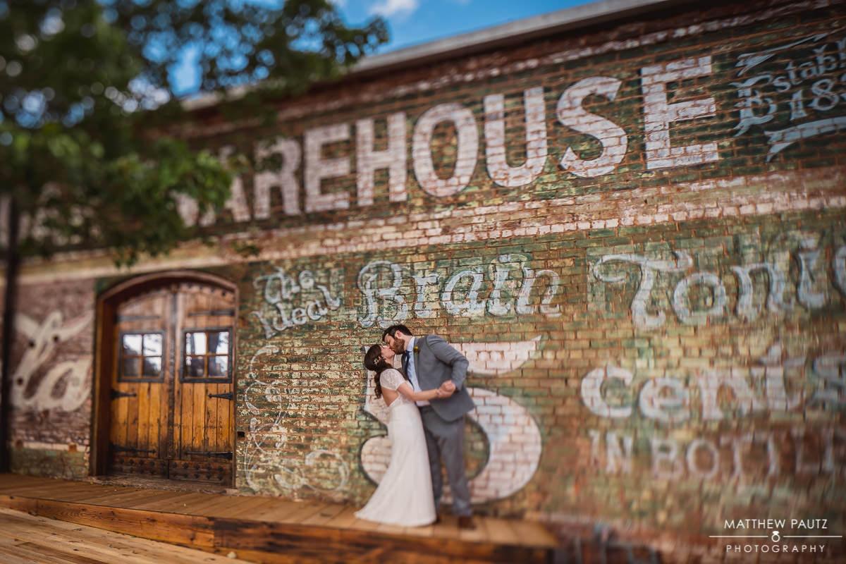 The Old Cigar Warehouse Wedding Photos
