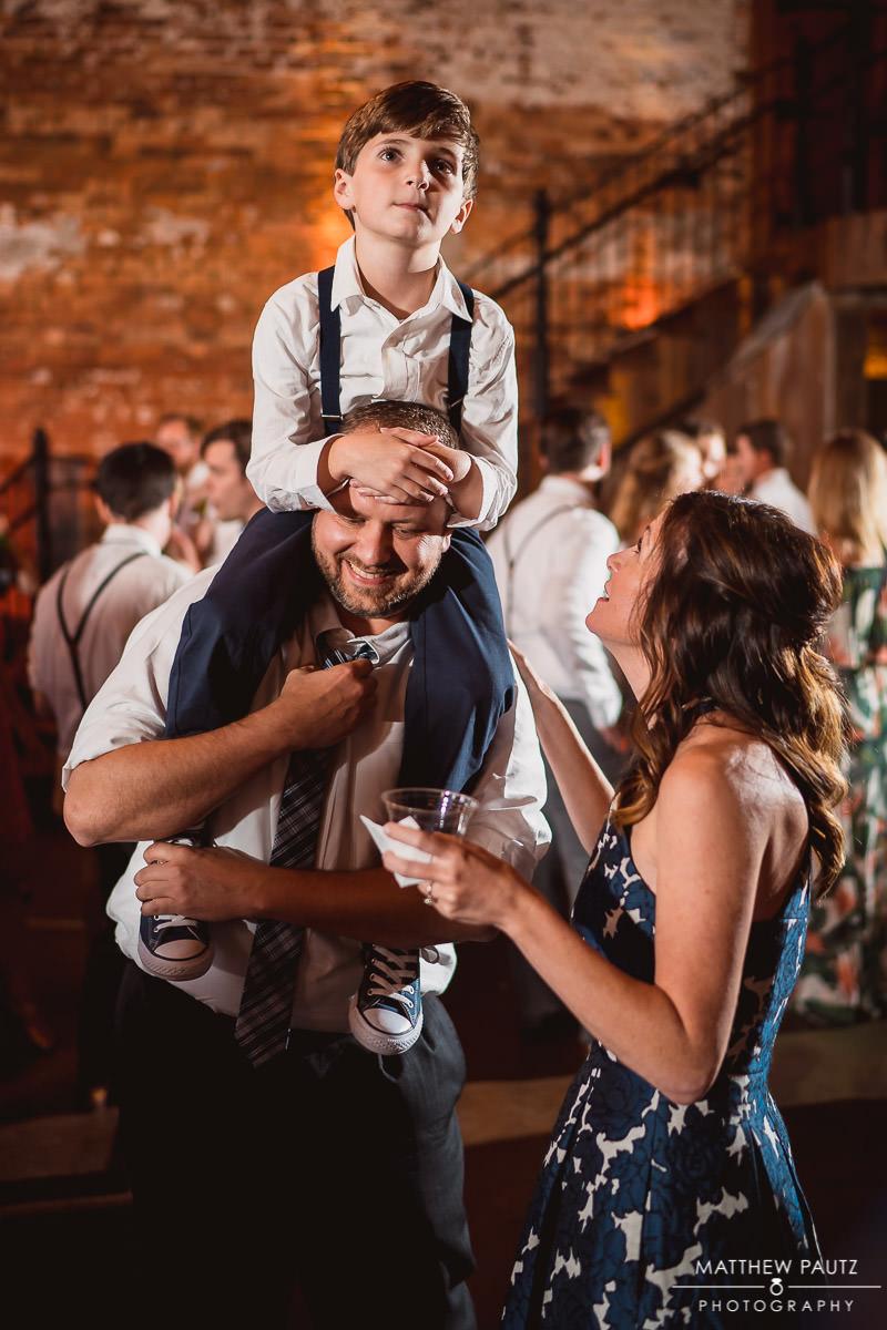 beautiful candid wedding moment at reception