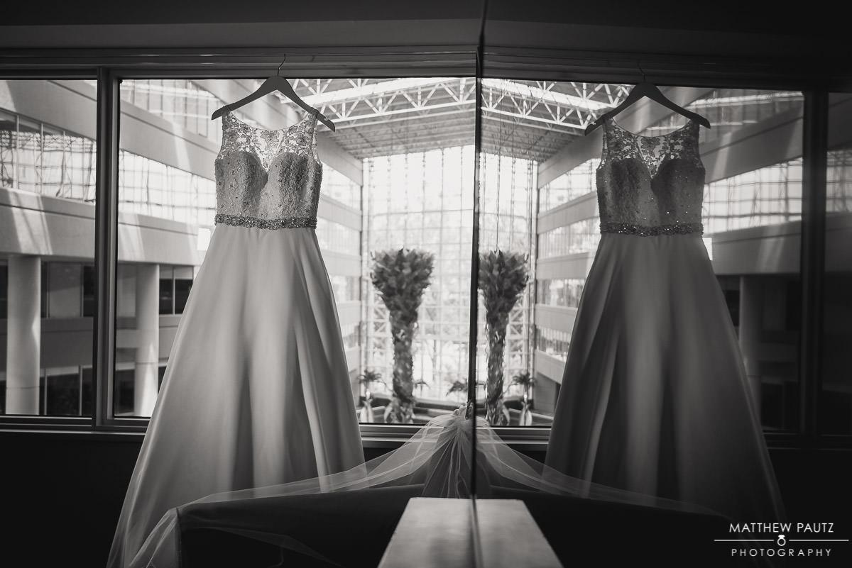 Wedding photos at The Hyatt Greenville