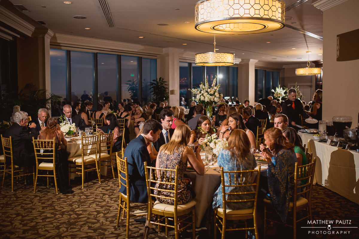 Wedding reception at The Commerce Club, Greenville Sc