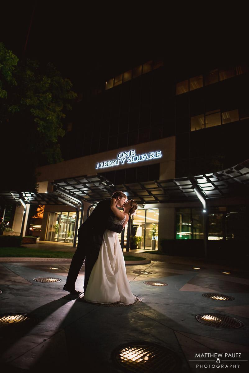 The Commerce Club wedding reception