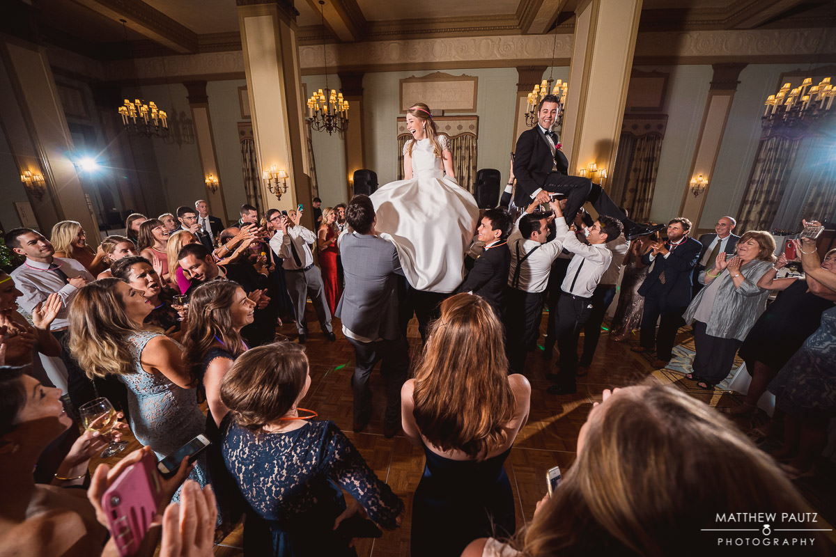 Jewish Wedding chair dance