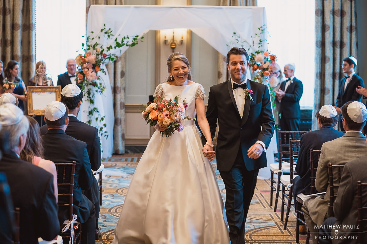 Wedding ceremony at The Westin Poinsett