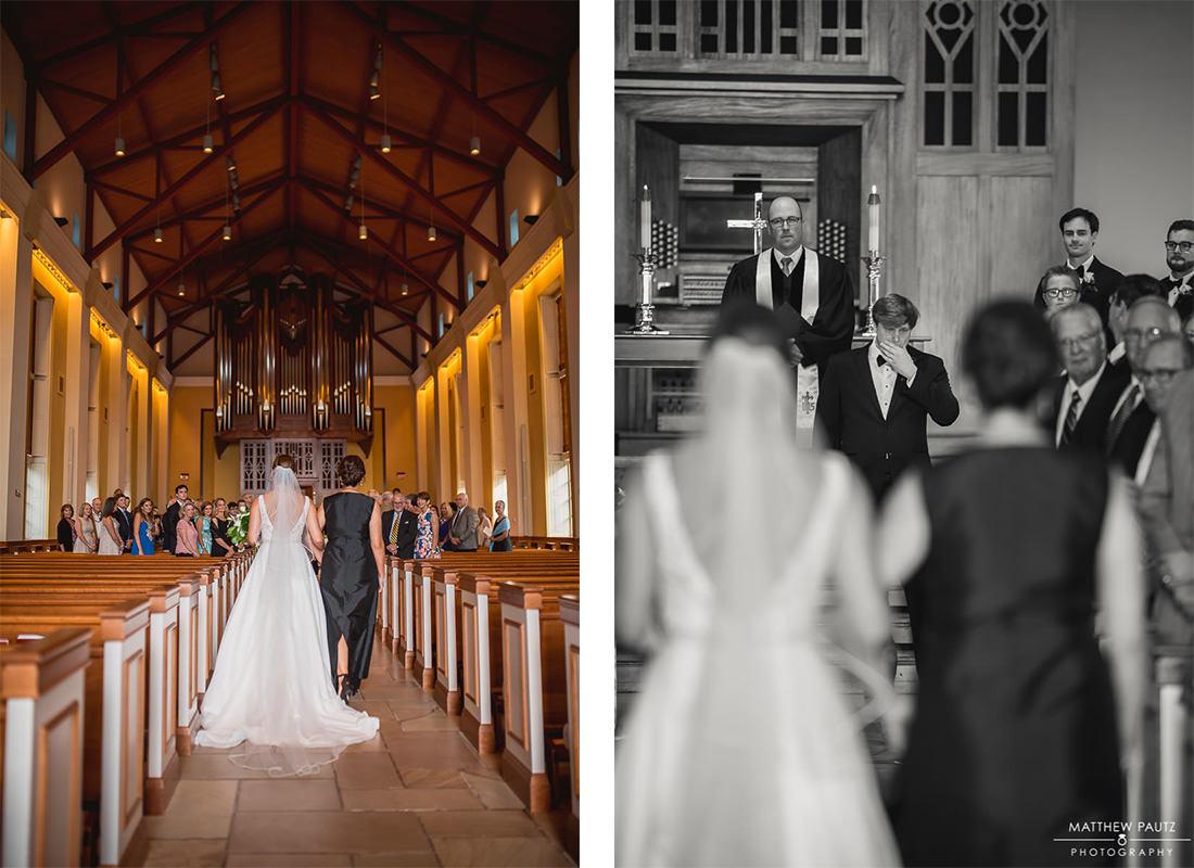 Furman Chapel wedding photos