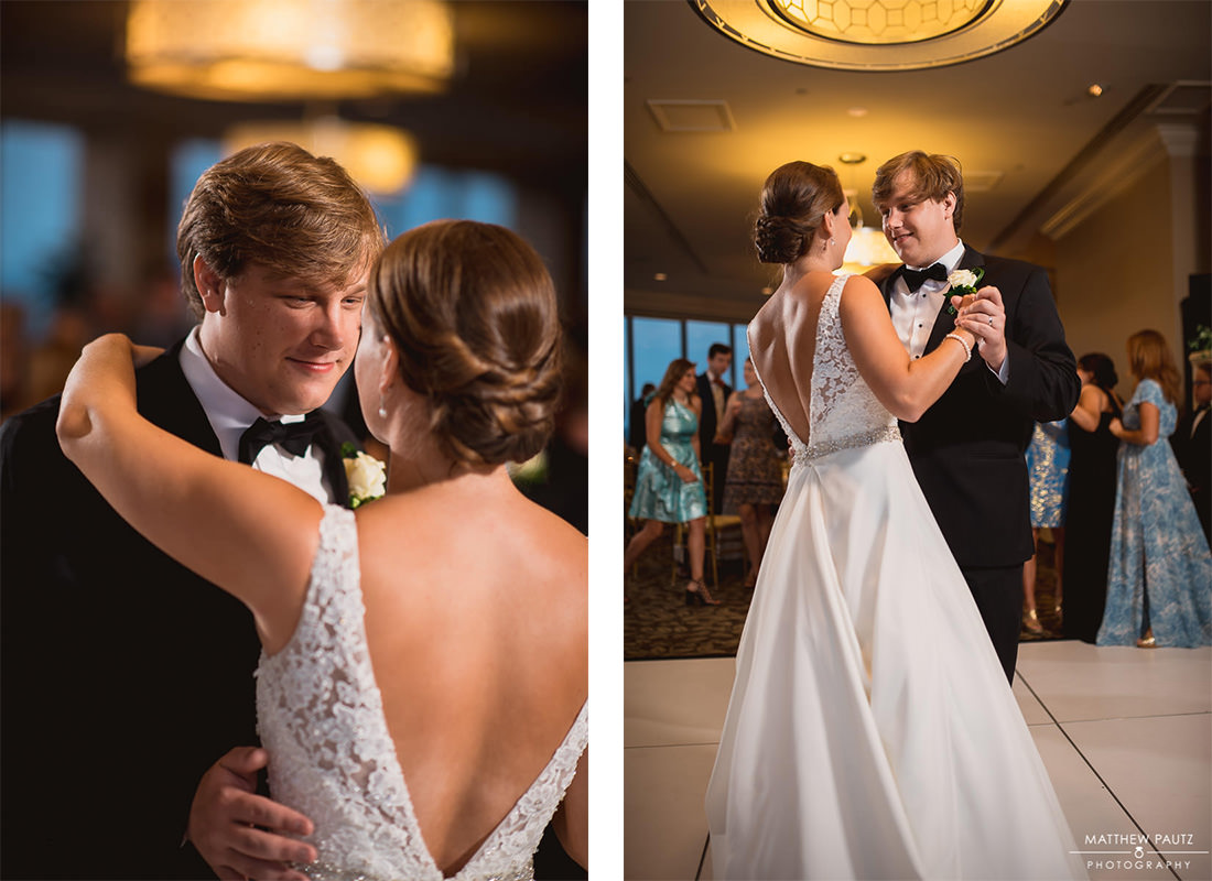Beautiful first dance photos at The Commerce Club
