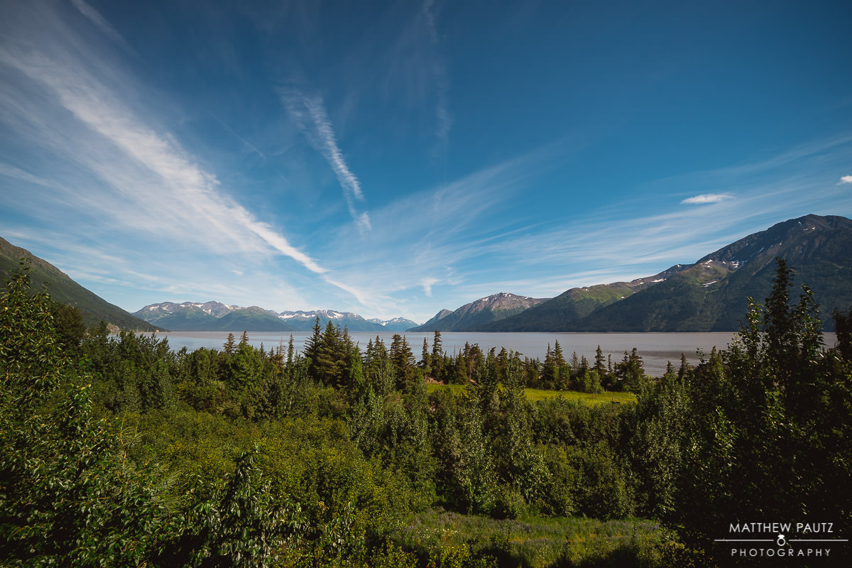 The view from Bird Point, Alaska