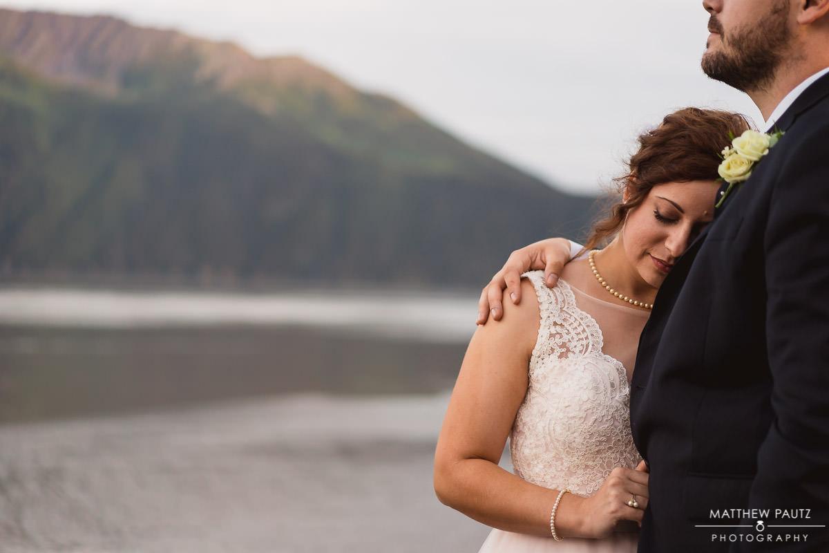 Destination wedding photographer in anchorage alaska