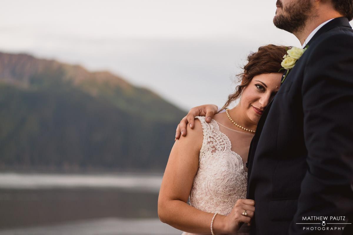 Anchorage destination wedding photos