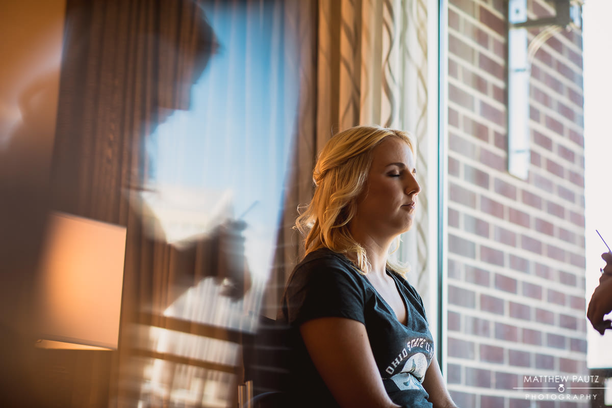 Embassy Suites wedding photos, downtown greenville